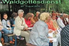 2010: 2. Waldgottesdienst - (c) Christel Recktenwald